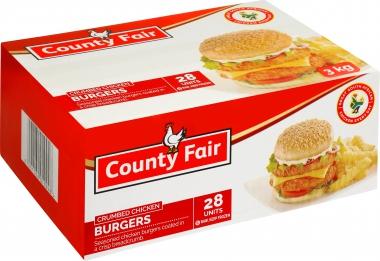COUNTY FAIR CHICKEN BURGER
