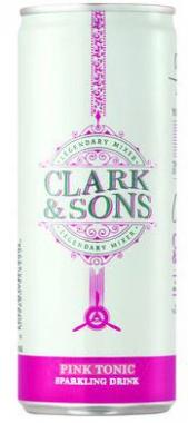 CLARK & SON PINK SODA 6X250ML