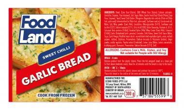 FOODLAND SWEET CHILLI GARLIC BREAD