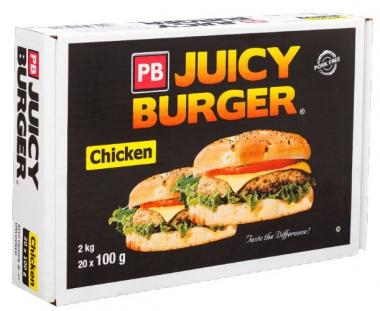 PB JUICE CHICKEN BURGER