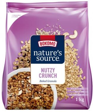 NATURE'S SOURCE NUTZY CRUNCH