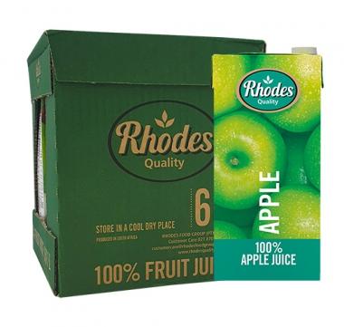 RHODES JUICE APPLE X1L