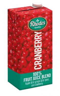 RHODES FRUIT JUICE CRANBERRY