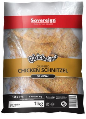 SOUTHERN STYLE CRUMBED CHICKEN SCHNITZELS