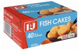 I&J FISH CAKES 2KG