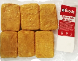 EFOODS BATTERED HAKE PORTIONS AA