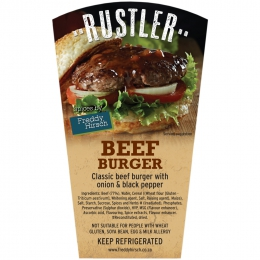 RUSTLER BEEF BURGER PATTIES
