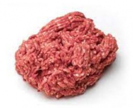 BEEF MINCED LUNGS FROZEN