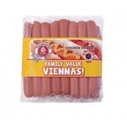 BMS CHICKEN VIENNAS (FRESH)