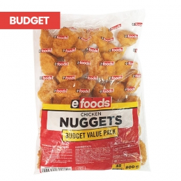 EFOODS CRUMBED BUDGET NUGGETS