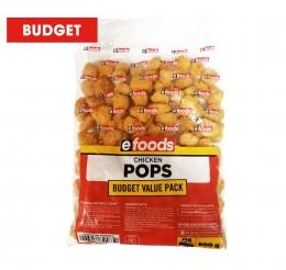 EFOODS BUDGET CHICKEN POPS (FROZEN)