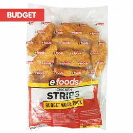 EFOODS CRUMBED BUDGET STRIPS