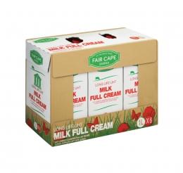 FAIR CAPE FULL CREAM MILK 6X1LT