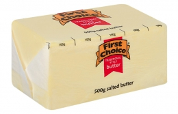 FIRST CHOICE SALTED BUTTER