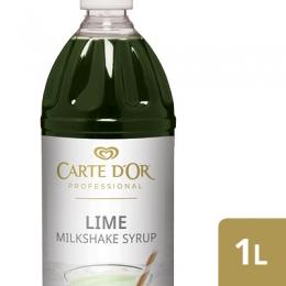 CARTE D'OR LIME MILKSHAKE SYRUP