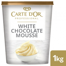 CARTE D'OR WHITE CHOCOLATE MOUSSE 1KG