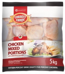 COUNTRY RANGE CHICKEN MIXED PORTIONS (FROZEN)