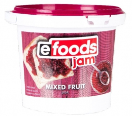 E-FOODS JAM MIXED FRUIT