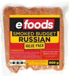 EFOODS BUDGET SMOKED PORK RUSSIANS