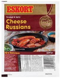 ESKORT CHEESE RUSSIANS (FRESH)