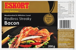 ESKORT PORK BACON STREAKY