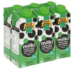 FIRST CHOICE CREAM SODA MILK FLAVOURED DRINK