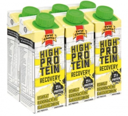 FIRST CHOICE  BANANA CREME RECOVERY DRINK