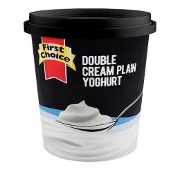 FIRST CHOICE DOUBLE CREAM YOGHURT 1L