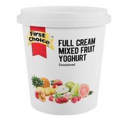 FIRST CHOICE FRUITED MIX FRUIT YOGHURT