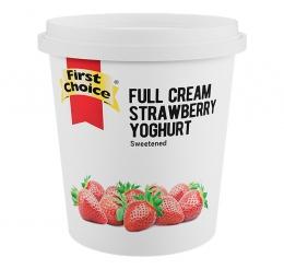 FIRST CHOICE FRUITED STRAWBERRY YOGHURT