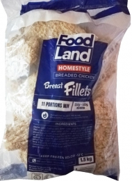 FOODLAND BREAST FILLET CRUMBED