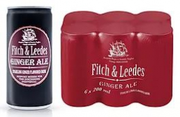 FITCH & LEEDES INDIAN GINGER ALE
