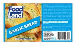 FOODLAND GARLIC BREAD