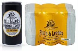 FITCH & LEEDES INDIAN TONIC SUGAR FREE