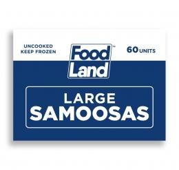 FOODLAND LARGE SOYA SAMOOSAS 60's