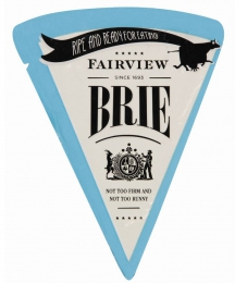FAIRVIEW RIPE & READY BRIE 125G