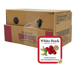 FAIRVIEW CHEESE WHITE ROCK CRANBERRIES 6x100G
