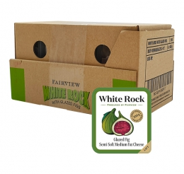 FAIRVIEW CHEESE WHITE ROCK FIGS 6X100G