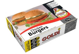 GOLDI CRUMBED TRADITIONAL CHICKEN BURGER
