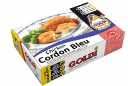 GOLDI CRUMBED TRADITIONAL CHICKEN CORDON BLEU