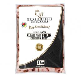 GRAINFIELD CHICKEN FEET CLEANED/PEELED (FROZEN)