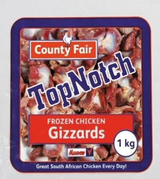 COUNTY FAIR CHICKEN GIZZARDS (FROZEN)