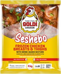 GOLDI SESHEBO BREAST/THIGH CHICKEN (FROZEN)