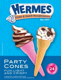 HERMES PARTY PACK CONES