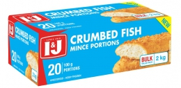 I&J CRUMBED FISH MINCED PORTIONS