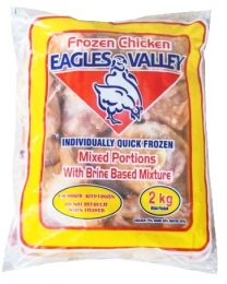 EAGLE VALLY CHICKEN MIXED PORTIONS (FROZEN)