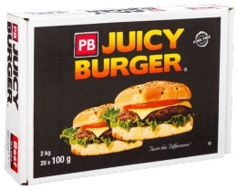 PB JUICY BUDGET BEEF BURGER