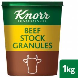 KNORR BEEF STOCK GRANULES 6X1KG