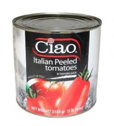 CIAO TOMATO WHOLE PEELED 2.65KG