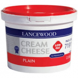 LANCEWOOD PLAIN CREAM CHEESE